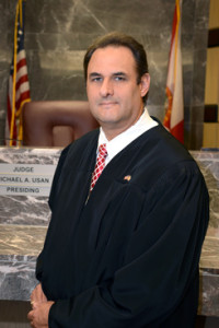 Broward Circuit Judge Michael Usan