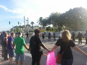 #blm954 #justice4jermaine protest 7.31.2016 Black Lives Matter Alliance Broward Jermaine McBean