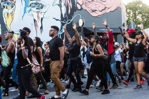 #blacklivesmatter Wynwood Miami protest 7.11