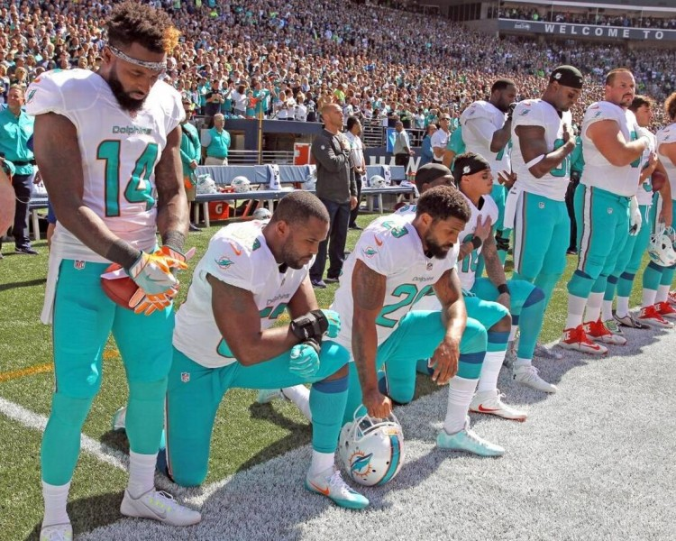 dolphins black lives matter